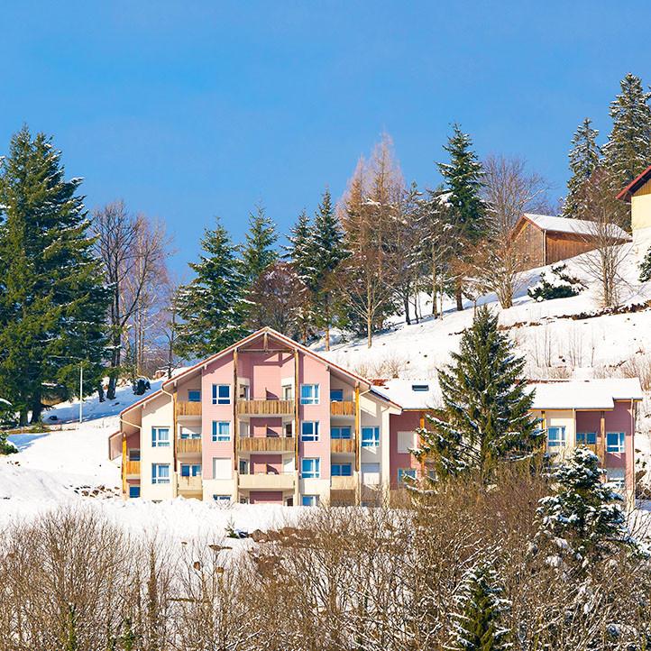 village vacances location bussang hiver